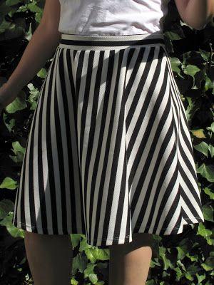 De vestido a falda - From dress to skirt