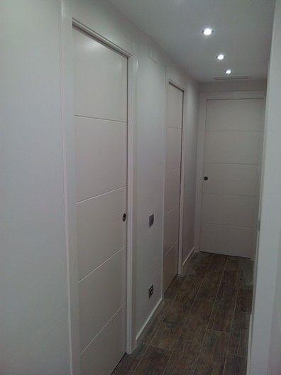Las 25 mejores ideas sobre puertas interiores pintadas en for Manivelas puertas interior