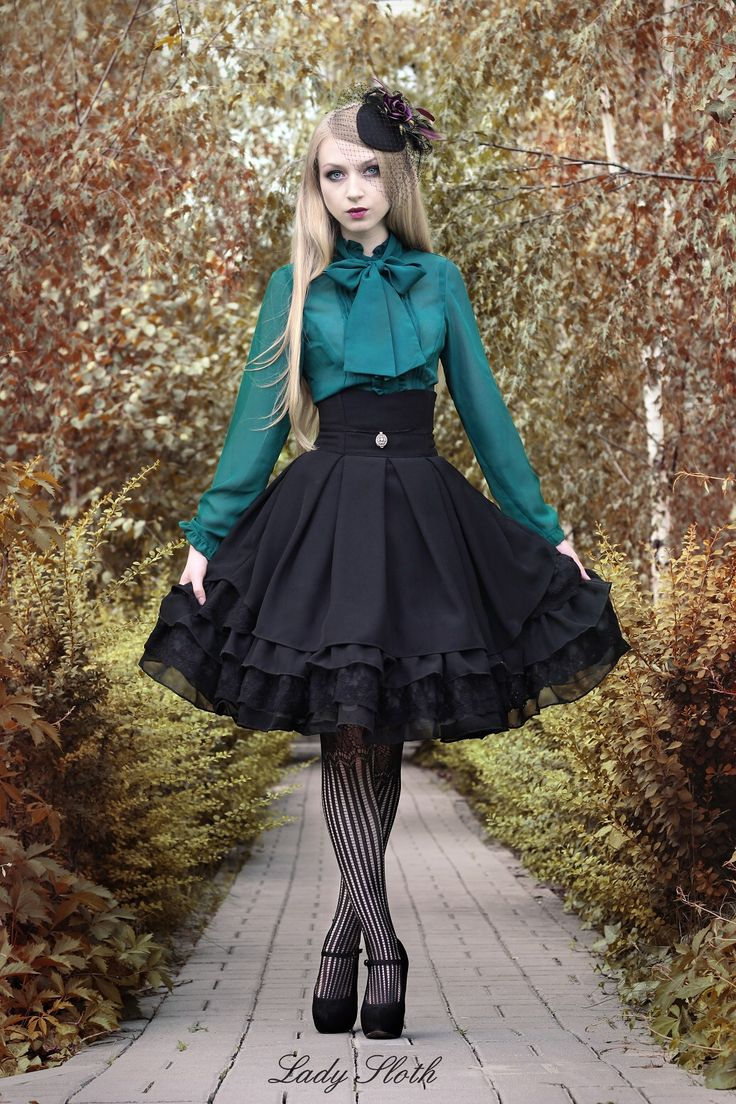 "frillyroses: ""acuriosityofmine: "" Just ordered this lovely skirt from Lady Sloth "" I just saw this release from Lady Sloth this morning. I'm looking forward to when she releases the JSK cut! Hope you love the item, OP! """