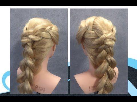 Vlechten met 3 strengen, braids with 3 strands - YouTube