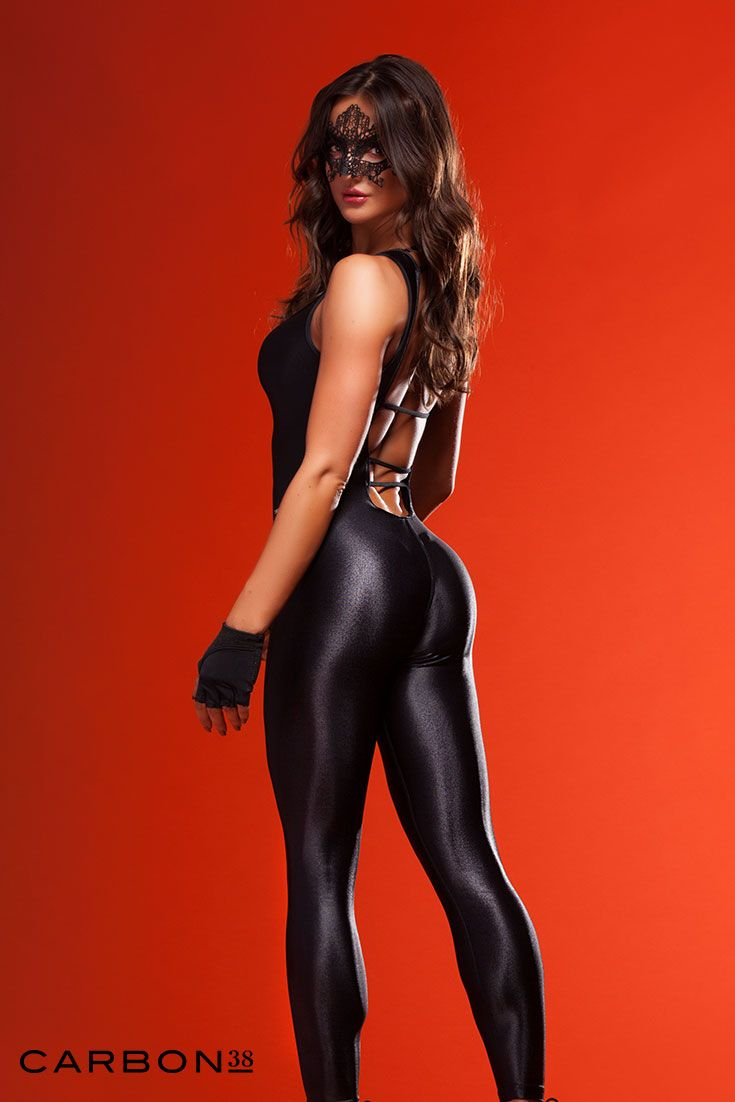 Vamp it up! Grab yourself some spandex that'll look hot on Halloween and in the gym the day after.
