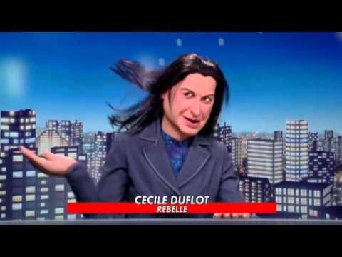 Politique - LES GUIGNOLS DE L'INFO - Mariage gay : PPD reçoit Cécile DUFLOT - 14.12.2012 - http://pouvoirpolitique.com/les-guignols-de-linfo-mariage-gay-ppd-recoit-cecile-duflot-14-12-2012/