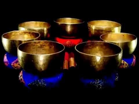 Медитация | Тибетские поющие чаши | Чакра Исцеление | Тон D #