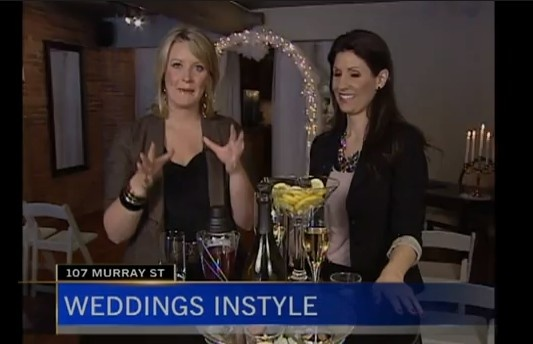 Amanda O'Reilly talks Weddings. Weddings InStyle & Signature Drinks. Wedding Trends