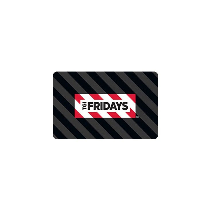 Tgi Fridays $25 (Email Delivery)