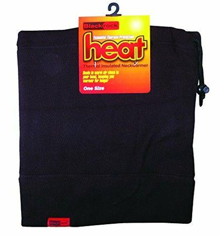 Blackrock Men's Heat Thermal Neck Warmer - Black, One Size