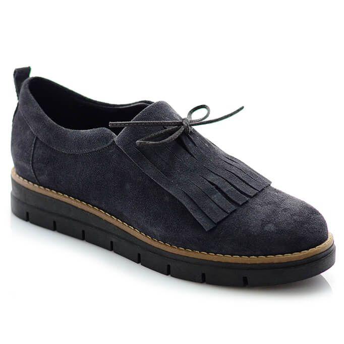 Γυναικεία Sneakers Γκρί Καστόρι