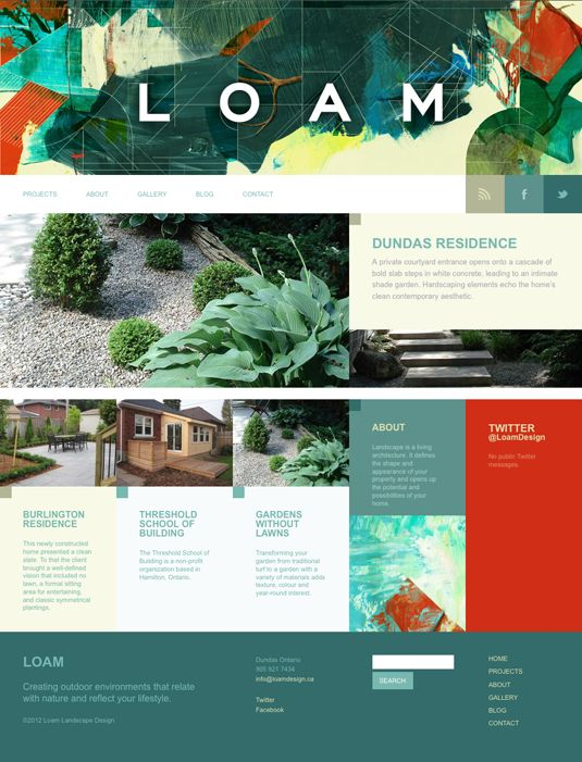 Loam website by Poly Studio.