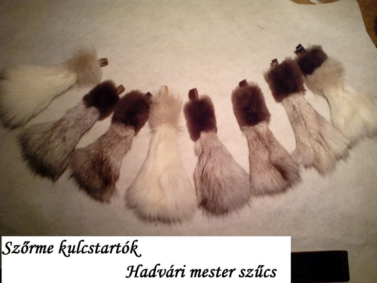 Szőrme kulcstartók******  Hadvári mester szűcs Fur keychain -Hadvári master furrier---------  1072 Budapest , Rakoczi ut 6 HUNGARY--- Facebook page:  https://www.facebook.com/hadvarisapka