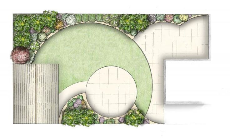 Small Garden Design | Owen Chubb Garden Landscapes