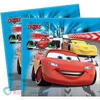 Servetten Cars: 20 stuks -  Koppen.com