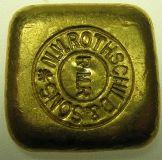 Goldbarren 50 Gramm für Barrensammler Rothschild & Sons