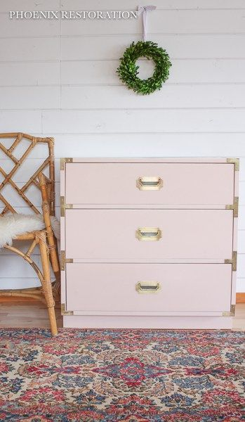 Blush Campaign Dresser