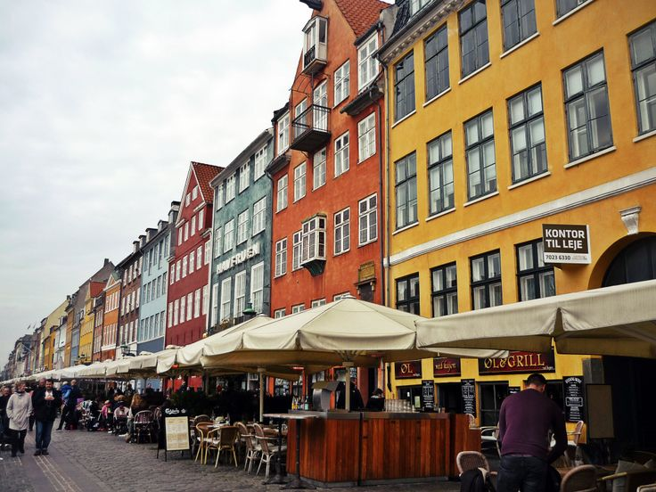 Nyhavn - the 17th-century waterfront, canal and entertainment district in Copenhagen