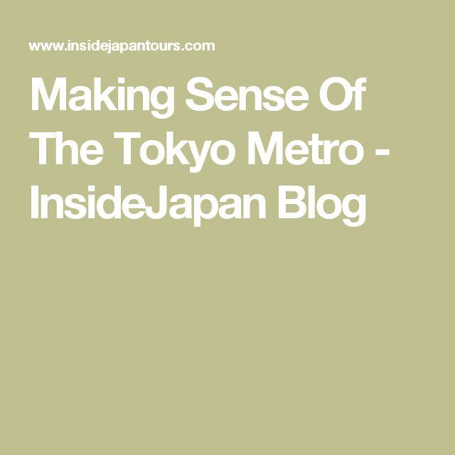Making Sense Of The Tokyo Metro - InsideJapan Blog