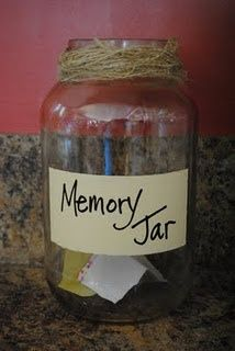 Such a great idea- this would be nice at a rehearsal dinner or even reception. Then take it with on honeymoon to read! everyone writes a memory they have with you