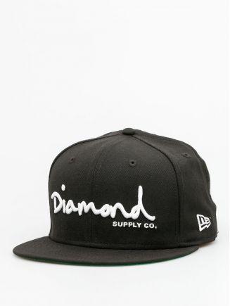 Diamond Supply Co. Kšiltovka Og Sript Fitted ZD (black)
