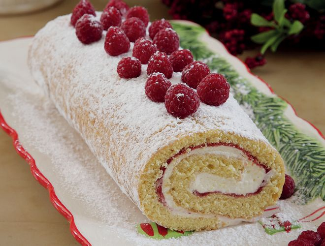 Κορμός με Βατόμουρα Το πιο ωραίο γλυκό για τα Χριστούγεννα.