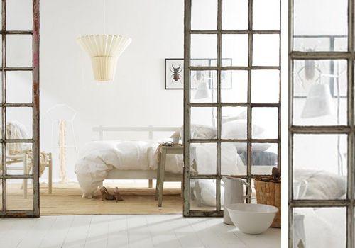 10 ideas para separar ambientes carpinter a vintage - Puertas correderas para separar ambientes ...