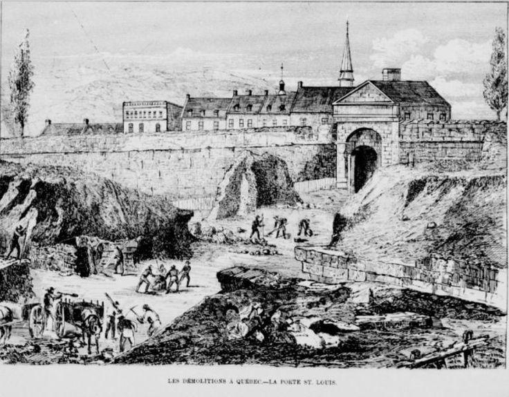 …et un soupçon de XXe siècle. Débutons d'abord par un extrait de l'Opinion publique du 14 septembre 1871 LES DEMOLITIONS À QUEBEC On commence à démolir Québec; la vieille capitale…