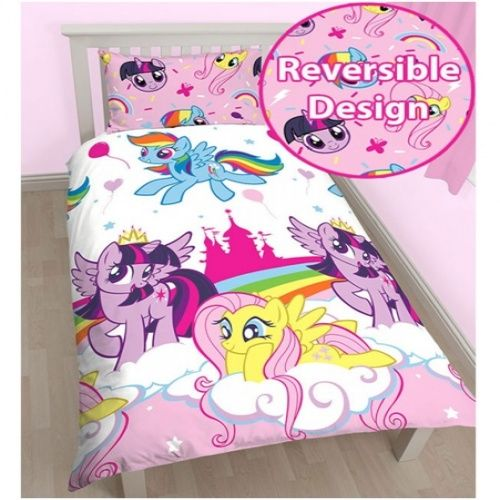 My Little Pony My Little Pony Reversible Single Doona Cover Set. Check it out!
