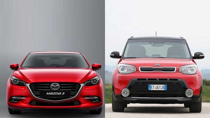 2017 Mazda 3 vs 2014 Kia Soul http://youtube.com/CarsbestVideos2 More! http://Howtocomparecarinsurance.net
