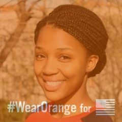 Using Social Media for Good: Learn more about the Wear Orange campaign in our Q&A with Nza-Ari Khepra.