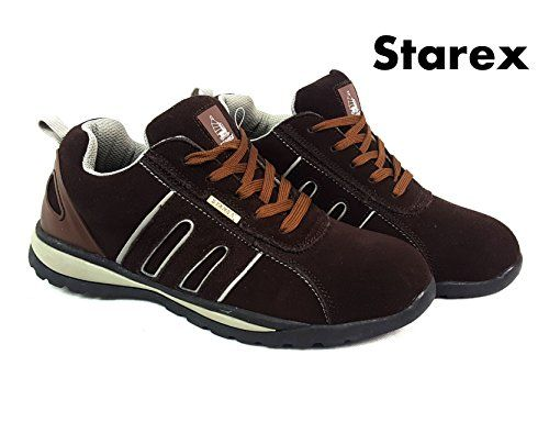 Starex MENS SAFETY TRAINERS SHOES BOOTS WORK STEEL TOE CAP HIKER ANKLE Grey/Brown Suede 8 FASHION WORK WEAR OR HIKING WEAR (Barcode EAN = 5060405735148). http://www.comparestoreprices.co.uk/december-2016-4/starex-mens-safety-trainers-shoes-boots-work-steel-toe-cap-hiker-ankle-grey-brown-suede-8.asp
