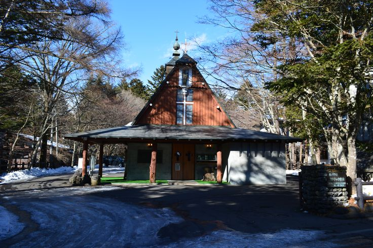 旧軽井沢の教会 2014.1