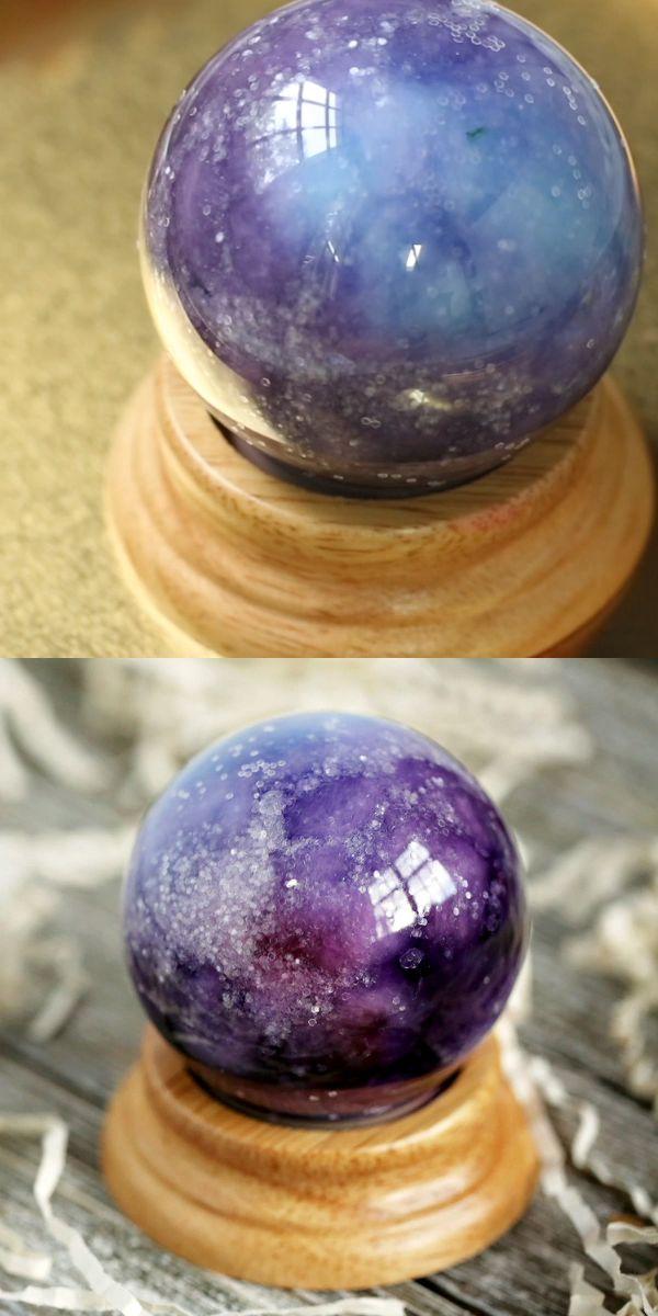 Crystal Ball Craft #diyideas A simple DIY idea for…