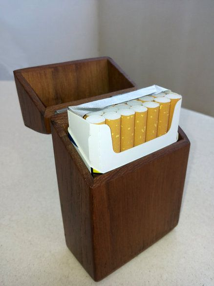 Cigarette Teak Case