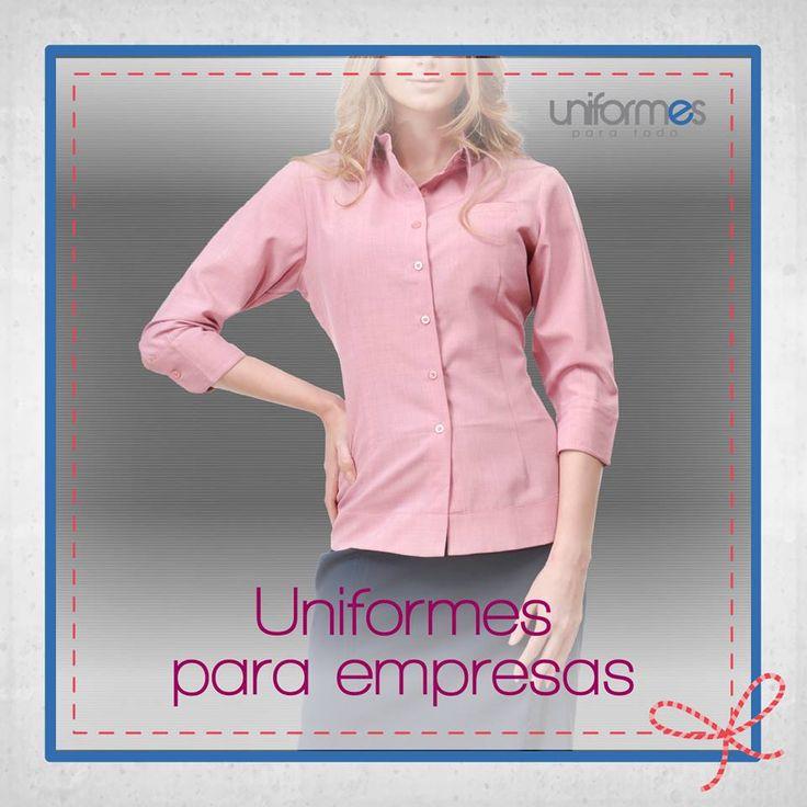 Contáctanos para confeccionar prendas para el personal de tu empresa.   www.uniformesparatodo.com