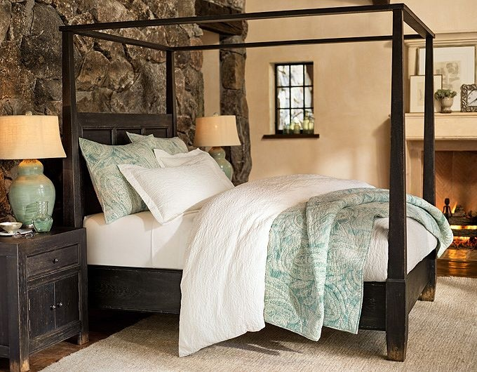 Nice Bedroom Accessories U0026 Bedroom Inspiration Stone Back And Fireplace