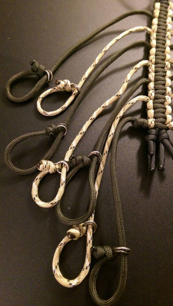 Paracord Dove Loops Dove Hauler Game Loops and by CourtLynnBelle