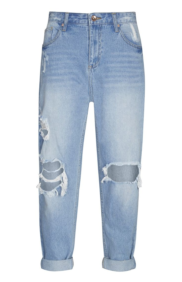 Primark - Mom Jeans perfect with a lace up heel!
