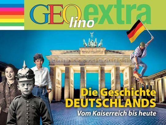 GEOlino extra - Die Geschichte Deutschlands als interaktives iPad eMag für Kinder