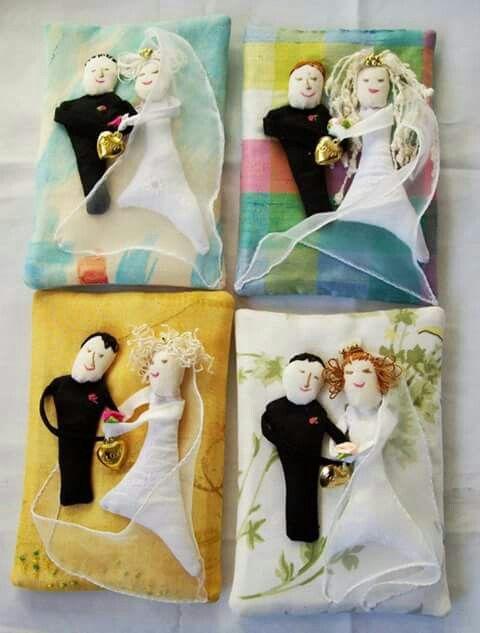 Mjuka bröllopskort med bakficka för din hälsning, presentkort mm