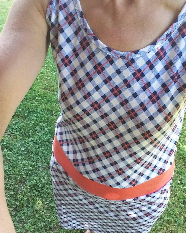 """Gefällt 19 Mal, 4 Kommentare - @maienbach auf Instagram: """"Neues @rosap.de Kleid. In Anlehnung an #Stantheman s Karohose ein Karokleid. Wollte ich schon lange…"""""""