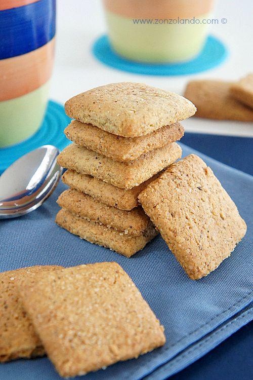 Biscotti rustici al grano saraceno   Zonzolando