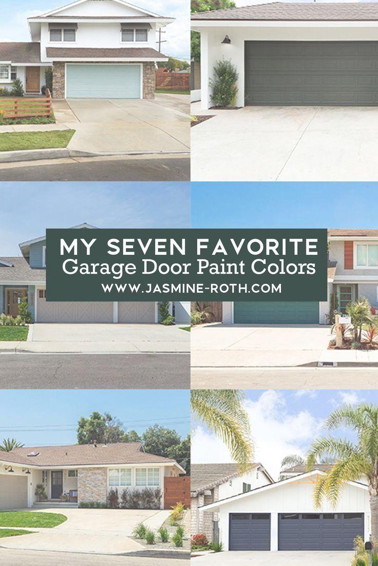The 7 Best Colors To Paint Your Garage Door The Blog By Jasmine