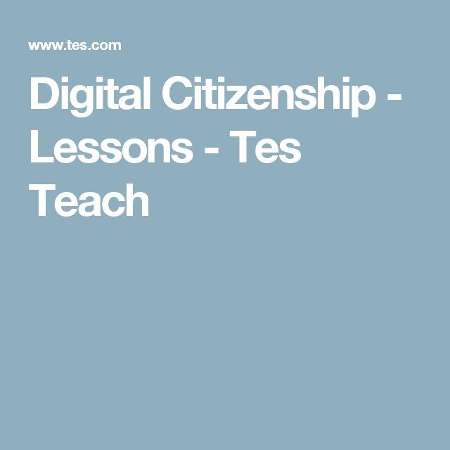 Digital Citizenship - Lessons - Tes Teach