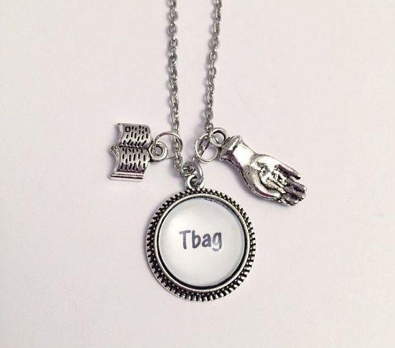 T. Bag Prison Break Necklace - Theodore Bagwell Necklace - Prison Break Jewelry
