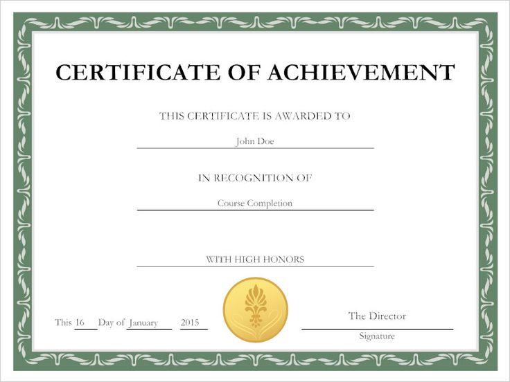 Best  Online Certificate Maker Ideas On   Certificate
