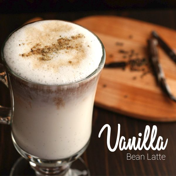 Enjoy this wintertime treat! Topped with whipped cream, crushed vanilla bean and a touch of sugar this flavorful cup is sure to take through a long day at work.