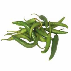 Chilli Peppers/Hot Green Chillies
