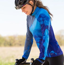 Women's Terry Mandarin Thermal Long Sleeve Cycling Jersey | Terry Bicycles