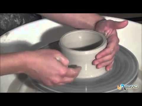 Cómo hacer un plato de barro - Curso cerámica - YouTube
