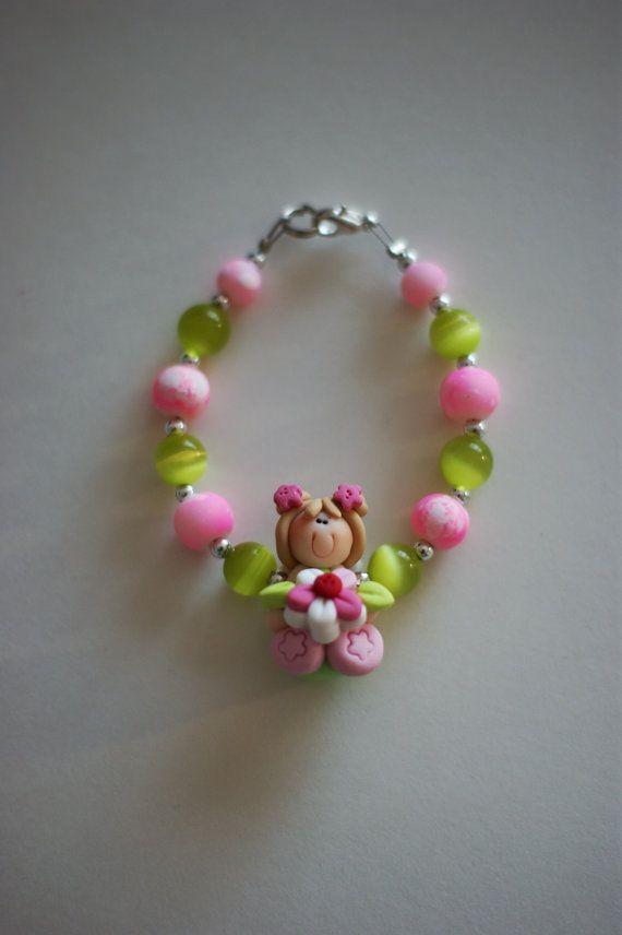 LITTLE GIRL BRACELET  Children jewelry  by LesBijouxLibellule