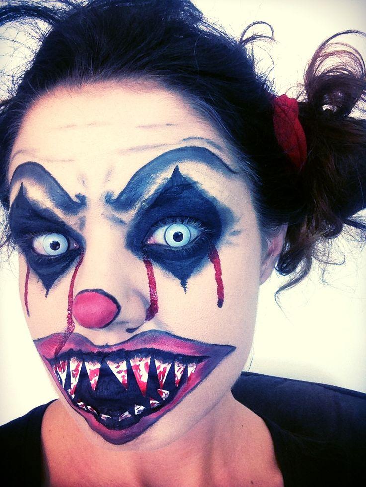 Siete alla ricerca di un trucco spaventoso per Halloween, ecco a voi il tutorial PAGLIACCIO DIABOLICO! tutorial: https://www.youtube.com/watch?v=RT5e07YcLkE&list=UUJNLLATJ4RTgp3tJ_JTKF5w
