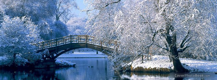 Winter Wonderland Cover Photos For Facebook winter ice bridge free ...